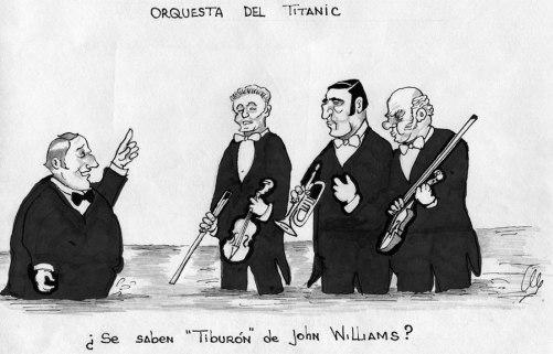 orquesta titanic